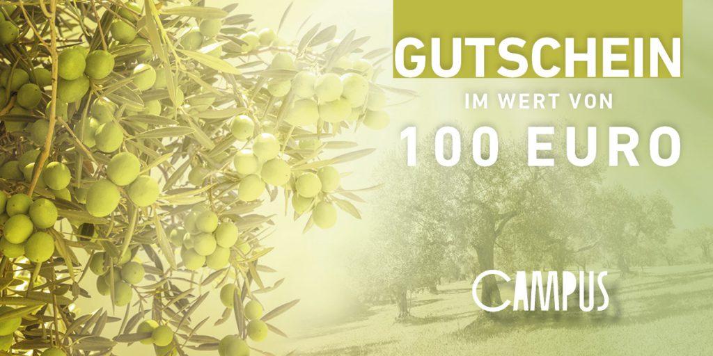 100 Euro Gutschein - Öl inklusive